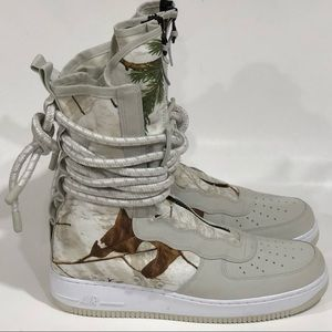 Nike SF Air Force 1 Realtree Camo Boots
